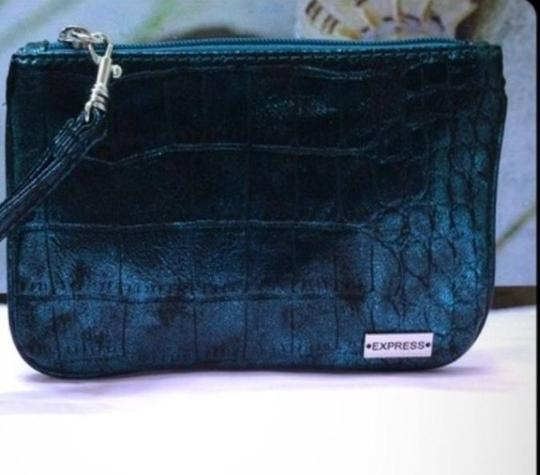 Express Green Clutch