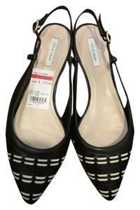 Cole Haan Black & White Flats