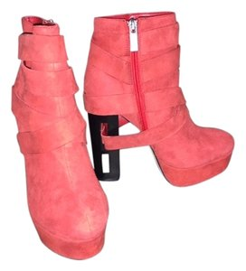 Dolce Vita Suede Bootie Red Boots