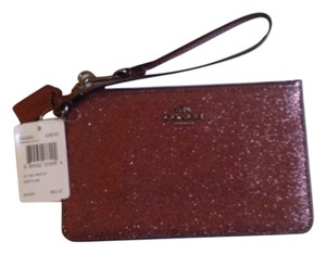 Coach Wristlet in Dark Fuschia