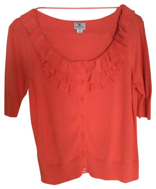 Preload https://item1.tradesy.com/images/worthington-coral-button-down-top-size-petite-12-l-9647485-0-1.jpg?width=400&height=650