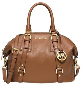 Michael Kors Satchel in Luggage/gold
