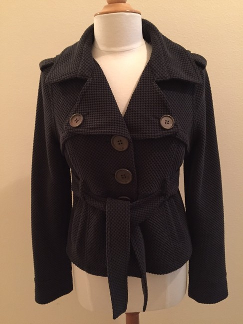 Sugarfly Short Belted Chic Pea Coat