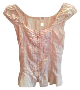 Ambiance Apparel Top Oatmeal