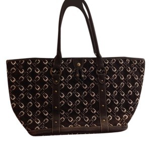 J.Crew Equestrian Preppy Tote in Brown