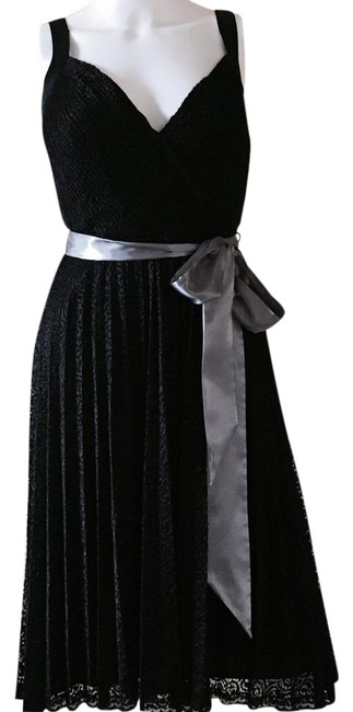 Preload https://item4.tradesy.com/images/betsey-johnson-black-pleated-fit-and-flare-knee-length-cocktail-dress-size-6-s-9647818-0-6.jpg?width=400&height=650