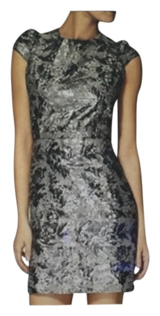 Preload https://item3.tradesy.com/images/silver-stunning-glam-party-in-brocade-mini-cocktail-dress-size-8-m-9647977-0-1.jpg?width=400&height=650