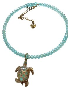Betsey Johnson Betsey Johnson turtle bead necklace