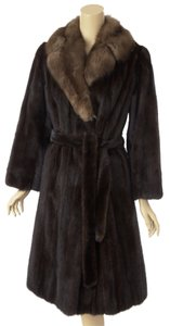 Koslows Mink Dark Mink Coat