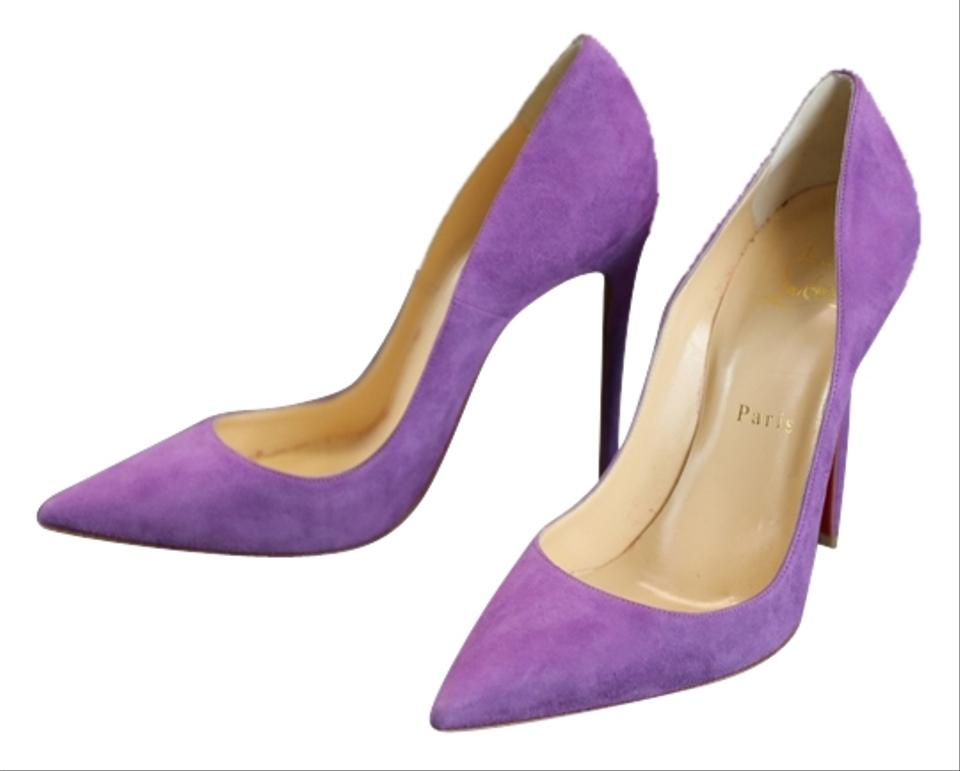 best service ac531 7e1f3 Christian Louboutin Purple So Kate Suede Pointed - Pumps Size US 7 Regular  (M, B) 24% off retail