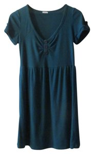 Kimchi Blue short dress Teal on Tradesy