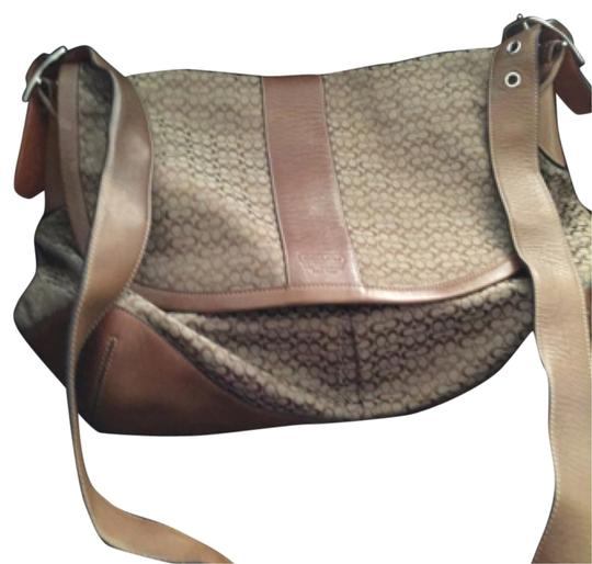 Preload https://item3.tradesy.com/images/coach-brown-leather-and-cloth-messenger-bag-9648772-0-1.jpg?width=440&height=440