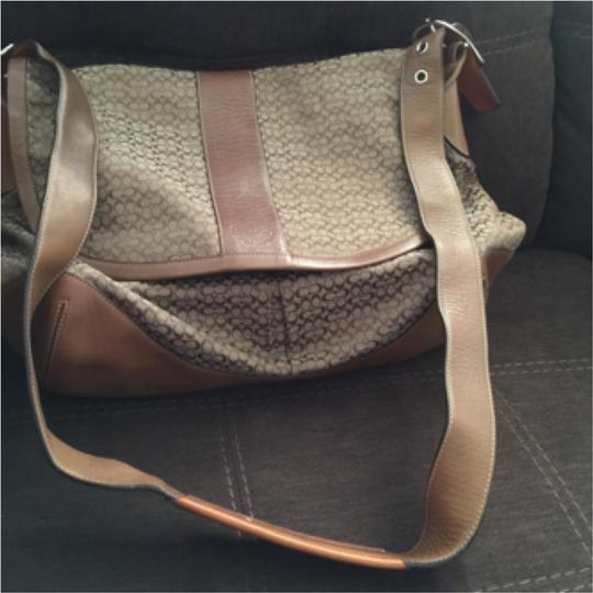 Coach Brown Messenger Bag