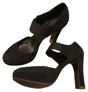 J.Crew Crew J Mary Jane Suede Black Pumps