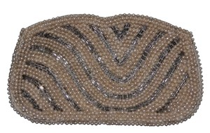 Other Elegant Purse Of Glass Beads Pearl & Crystal Clutch