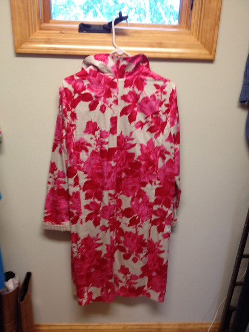Other Fuchsia Pink Floral on Cream Jacket