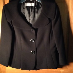 Tahari Black crepe suit