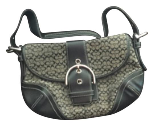 Preload https://item1.tradesy.com/images/coach-black-gray-leather-and-cloth-shoulder-bag-9649390-0-1.jpg?width=440&height=440