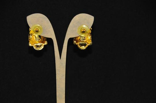 Joan Rivers Vintage New Pierced Earrings Gold And Multi Changeable Parts, Navy,ETC