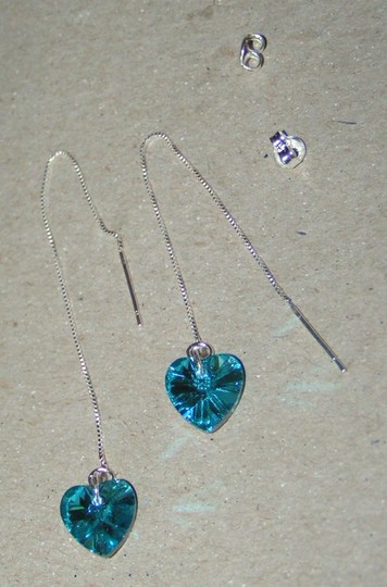 Silver/Blue Bogo Free Bundle Your Choice 2 Items For One Price Free Shipping Earrings