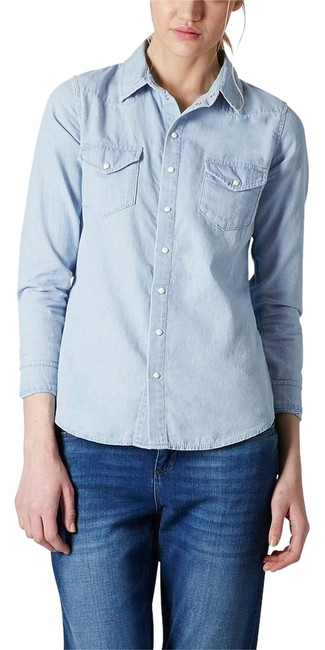 Topshop Button Down Shirt Image 0