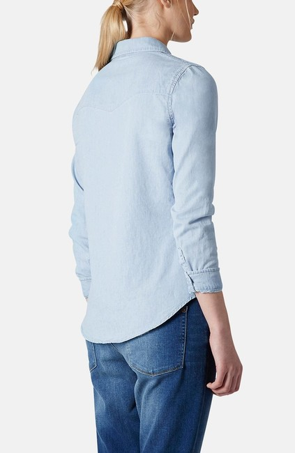 Topshop Button Down Shirt Image 2