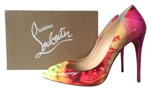 Christian Louboutin Heels Pigalle Follies 100mm Tie Dye Pumps