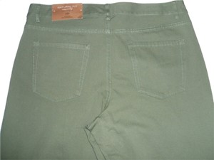 Coldwater Creek Capri/Cropped Pants Olive green