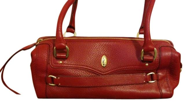 Item - Red Leather Baguette