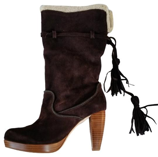 Preload https://item3.tradesy.com/images/charlotte-ronson-brown-agata-suede-platform-tassels-sherpa-trim-bootsbooties-size-us-9-regular-m-b-9649987-0-1.jpg?width=440&height=440