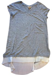 Anthropologie T Shirt Grey