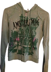 Urban Outfitters Zip Up Amsterdam Hood Sweatshirt
