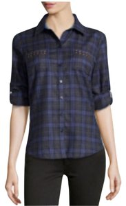 Robert Graham Button Down Shirt Indigo
