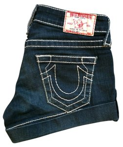 True Religion Rock Revival Denim Shorts
