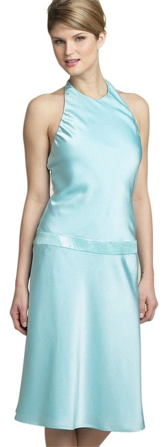 Preload https://item1.tradesy.com/images/calvin-klein-blue-glossy-ice-satin-unique-prom-mid-length-formal-dress-size-2-xs-9650455-0-3.jpg?width=400&height=650