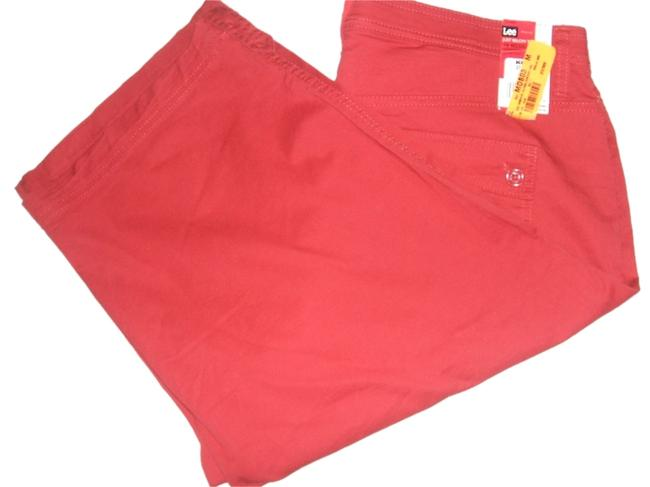 Preload https://img-static.tradesy.com/item/9650476/lee-sunfully-soft-women-s-comport-fit-leg-red-msrp-new-capricropped-pants-size-16-xl-plus-0x-0-1-650-650.jpg