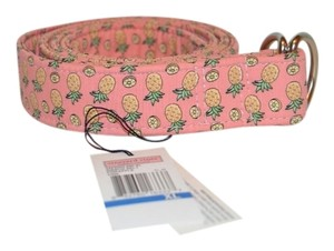 Vineyard Vines vineyard vines 100% Cotton pineapple belt in pink-Size XL- Brand New with Tags