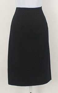 Ellen Tracy Navy Wool Pencil B190 Skirt