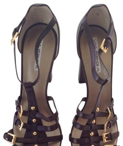 Via Spiga Chocolate Brown Sandals