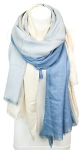 Other Multi-Colored Long Scarf (Blue/Cream/Stripes)