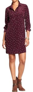 Old Navy short dress Maroon on Tradesy