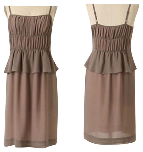 Preload https://img-static.tradesy.com/item/9651709/taupe-susannah-above-knee-cocktail-dress-size-6-s-0-1-650-650.jpg
