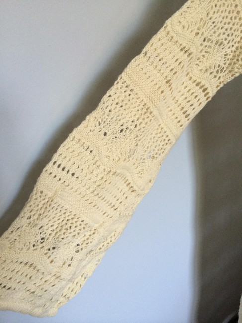 Old Navy short dress Cream Crochet Fall on Tradesy