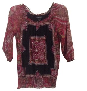 Preload https://item4.tradesy.com/images/inc-international-concepts-black-pink-multi-blouse-size-petite-4-s-9652168-0-1.jpg?width=400&height=650