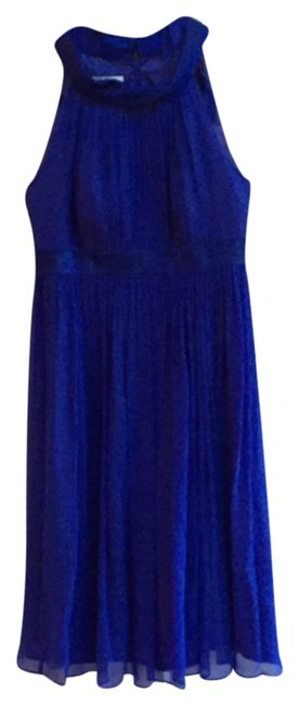 Preload https://item2.tradesy.com/images/maggy-london-blue-flattering-bright-pop-of-halter-prom-knee-length-cocktail-dress-size-4-s-9652531-0-1.jpg?width=400&height=650