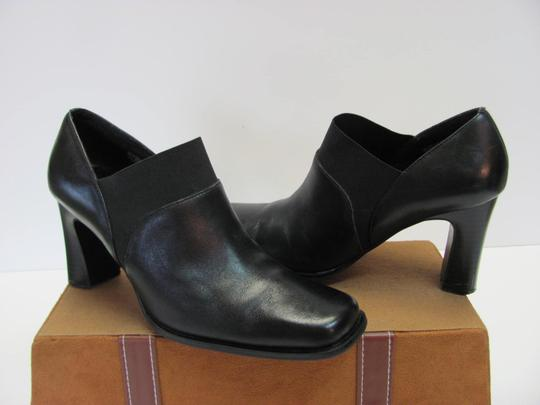 Mootsies Tootsies Size 6.50 M Leather Very Good Condition Black, Boots