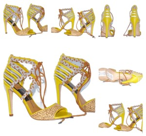 Dolce Vita Sandals Pumps Yellow, Mustard, Brown, Blue Platforms