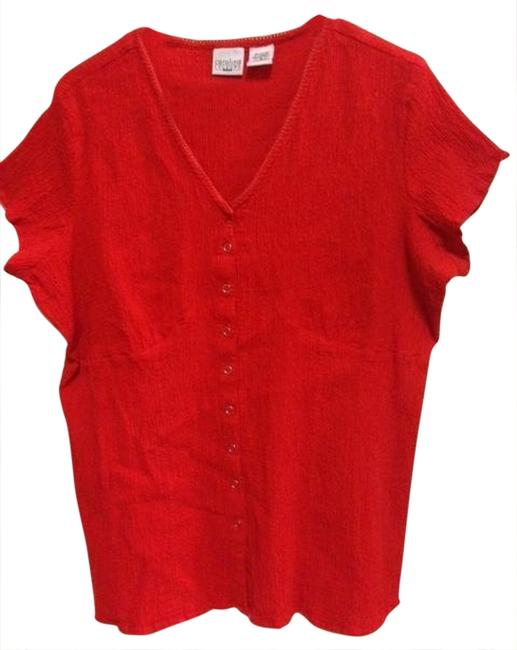 Preload https://item2.tradesy.com/images/red-comfortable-crinkle-cotton-tunic-size-16-xl-plus-0x-965326-0-0.jpg?width=400&height=650
