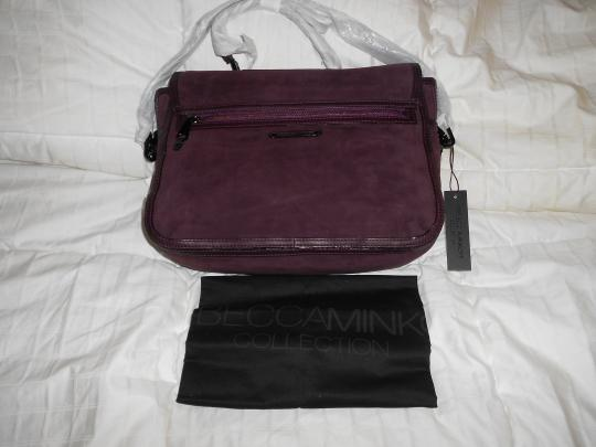 Rebecca Minkoff Color Roomy And Functional Satchel in Purple