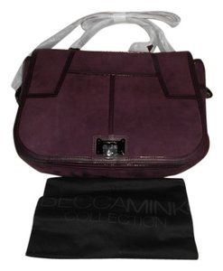 Rebecca Minkoff Color Roomy And Functional Satchel in Plum
